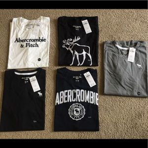 Kids Abercrombie shirts new